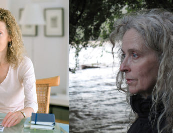 (L) Seton Smith: photo- Nina Subin (R) Kiki Smith: photo-